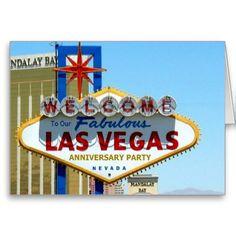 Our Fabulous Las Vegas Anniversary Card