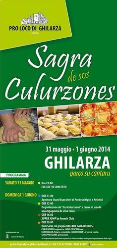 SAGRA DE SOS CULURZONES – GHILARZA – 31 MAGGIO – 1 GIUGNO 2014