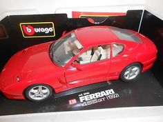#Boxed #burago diamonds die cast 1992 #ferrari 456 gt in red, 1:18 scale,  View more on the LINK: 	http://www.zeppy.io/product/gb/2/301604186468/