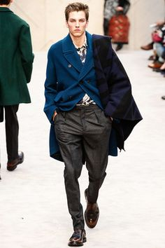 Burberry Prorsum Fall Winter 2014 Fashion Show Collection Images