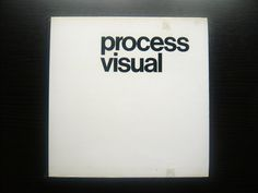 Wolfgang Schmittel, Process Visual, 1978(via)