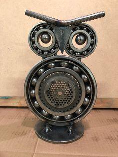 cool looking fan owl