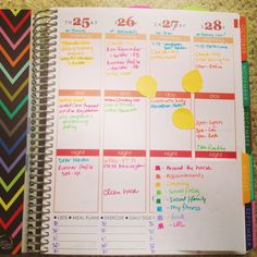 I love these ideas for organizing & personalizing my Erin Condren planner…