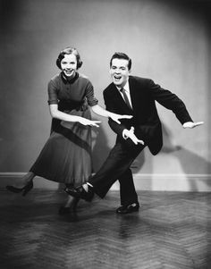 """The """"Big Apple Dance"""" considered to be the 3rd biggest dance craze of all time originated from jazz clubs and involves numerous steps that includes square dancing, flexible swinging and rapid foot work."""
