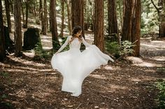 Rustic Redwoods Wedding