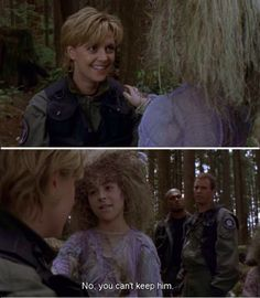 """O'Neill """"No you can't keep him"""" SG1"""