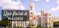 Que faire à Madrid? Notre guide ultime de la ville vous propose les 20 lieux d'intérêts à voir absolument lors de votre séjour. Retrouvez nos conseils d'itinéraires pour visiter Madrid en 1, 2, 3, 4 ou 5 jours + La liste des meilleurs hôtels où dormir en fonction de votre budget. En bonus, la carte touristique de Madrid.