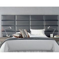 These Are The Wall Panels For The Bed. They Come In Black Leather Which Is  · Selbstgemachte KopfteileIdeen KopfteilSchlafzimmer IdeenGepolsterte Wände Bett ...