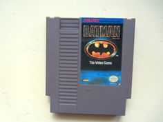 Vintage Batman The Video Game for Nintendo 1985 by WylieOwlVintage, $9.00