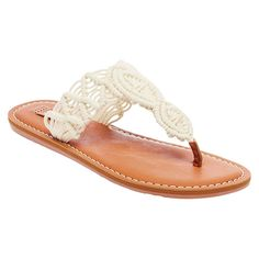 Women's Mad Love Lee Thong Sandals - White 10