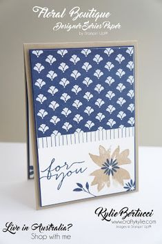 Kylie Bertucci - Blog Hop with the Crazy Crafters and special guest Julie Davison. Click on the picture to see more amazing designs from my amazing team. #kyliebertucci #crazycrafters #stampinup #bloghop