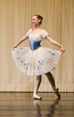 Lana Balova just seems so happy in this. She makes the tutu look so beautiful on her.