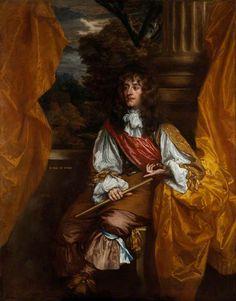 James VII and II as Duke of York - Sir Peter Lely - circa 1661