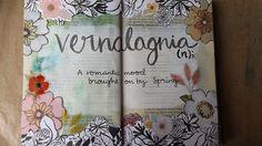 @kareng | Vernalagnia | Season of Words | Get Messy Art Journal