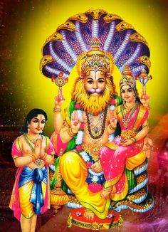 Narasimha Hindu Gods Pinterest Lord Vishnu Hindu Deities And