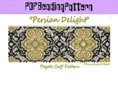 PERSIAN DELIGHTPeyote Pattern Beaded by CajunsDesignPatternS, $6.50