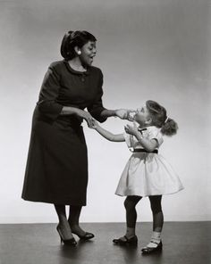 Dinah Washington and goddaughter Patti Austin