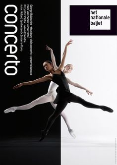 poster | Concerto | Het Nationale Ballet: