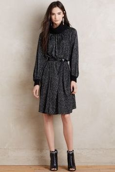Anthropologie soft swing dress #anthrofave
