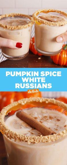 Pumpkin Spice White Russians