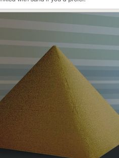 Do you have an assignment to make a model of an Egyptian pyramid? It's a fun school project that can be approached in a variety of ways. Read on to learn how to make a realistic-looking pyramid out of cardboard, sugar cubes, or clay....