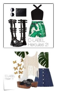 """""""C-LABEL Summer 2016"""" by clabelfootwear on Polyvore featuring Dolce&Gabbana, C Label, BCBGMAXAZRIA, Status Anxiety, Lipsy and Post-It"""