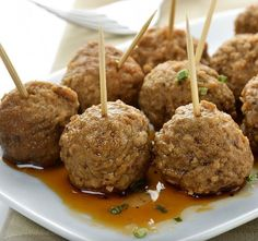 This recipe utilizes Fareway's delicious ham loaf! See how to make Ham Balls on our website! Baked Meatball Recipe, Meatball Bake, Meatball Recipes, Meatball Appetizers, Tapas, Ham Balls, How To Cook Meatballs, Cooking Meatballs In Oven, Oven Baked Meatballs