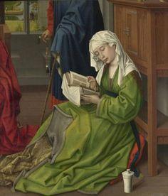 Рогир ван дер Вейден. Читающая Мария Магдалина. 1445