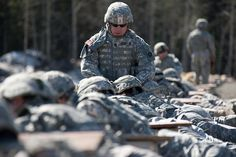 USARAK soldiers compete in a challenging competition testing their warrior skills.
