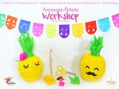 Piñata Workshop by Valentina Piñatas ♥ Ihr kreatives Team mit frischen Ideen. Die schönsten Piñatas in Deutschland! In DE handgemacht mir einer fairen und umweltbewusste Herstellung!