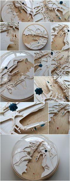 Conceptual Site Model Architecture #conceptualarchitecturalmodels Pinned by www.modlar.com