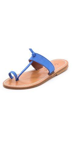 K. Jacques Ganges Toe Ring Sandals | SHOPBOP