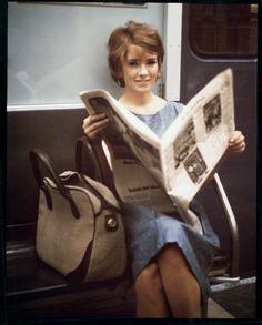 Martha Stewart as a young stockbroker