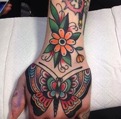 fuckyeahtraditionaltattoos:  Filip Henningsson - Sweden