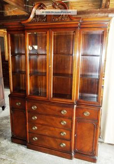 New Vintage Drexel China Cabinet