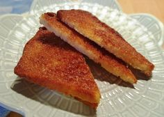 Air Fryer Perfect Cinnamon Toast via @thisoldgalcooks