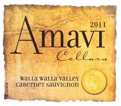 2011 Amavi Cellars Walla Walla Valley Estate Cabernet Sauvignon 750 mL