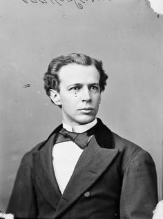 Wilfred Laurier, Canada's first Francophone Prime Minister as a younger man in… Canadian People, Canadian Coins, I Am Canadian, Canadian History, Canadian Rockies, Canadian Culture, Canadian Bacon, Vancouver Tourist Attractions, Ontario