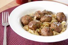 Mahogany Meatballs