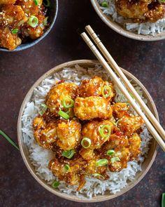 Vegetarian Recipes Easy, Veggie Recipes, Asian Recipes, Healthy Recipes, Ethnic Recipes, Batch Cooking, Healthy Cooking, Cooking Recipes, Food Concept