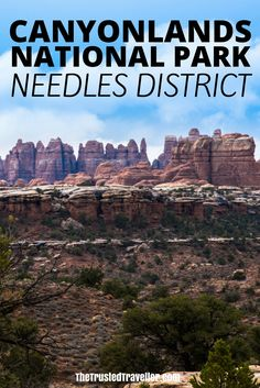 USA Travel Inspiration - Needles rock formations Canyonlands Utah - Canyonlands National Park - Needles - The Trusted Traveller Travel Usa, Travel Tips, Travel Guides, Bali, Canyonlands National Park, Travel Images, Travel Pictures, Adventure Travel, Adventure Stories