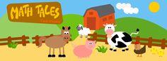 Math Tales, un'app per tablet di matematica e logica per bambini in età prescolare (dai 3 ai 5 anni)
