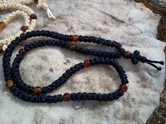 Orthodox JUST TO PRAY simply russian greek prayer rope, chotki, kombuskini, rosary, 100 knot, blessed