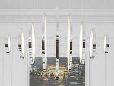 LED handmade metal pendant lamp VAASA by Cameron Design House design Ian Cameron