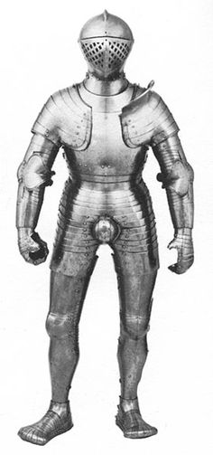 As his youthful foot-combat tourney armor shows, Henry VIII wasn't always a porker.