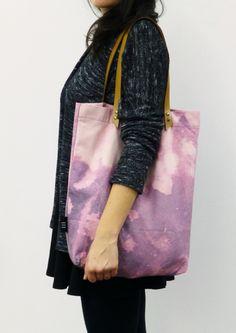 Lila Schultertasche // purple shoulder bag by I I I via DaWanda.com