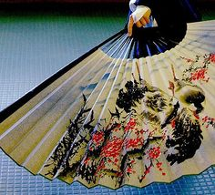 I have Japanese fans as wall decor in my bedroom.  They have so many beautiful designs, I just love them.
