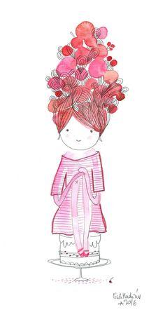 doll birthday, Cécile Hudrisier