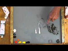 Preparing a limited palette with gray modifiers