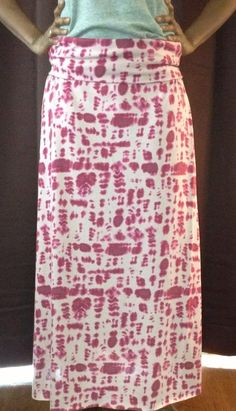 Jersey Knit Maxi Skirt by hmuhammad on Etsy, $30.00